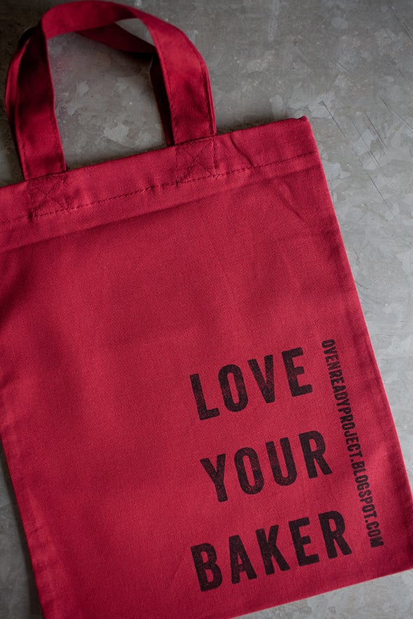 Image of Love Your Baker Sandwich Bag