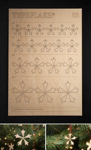 Image of Typeflake* 02 (Bauer Bodoni Titling)