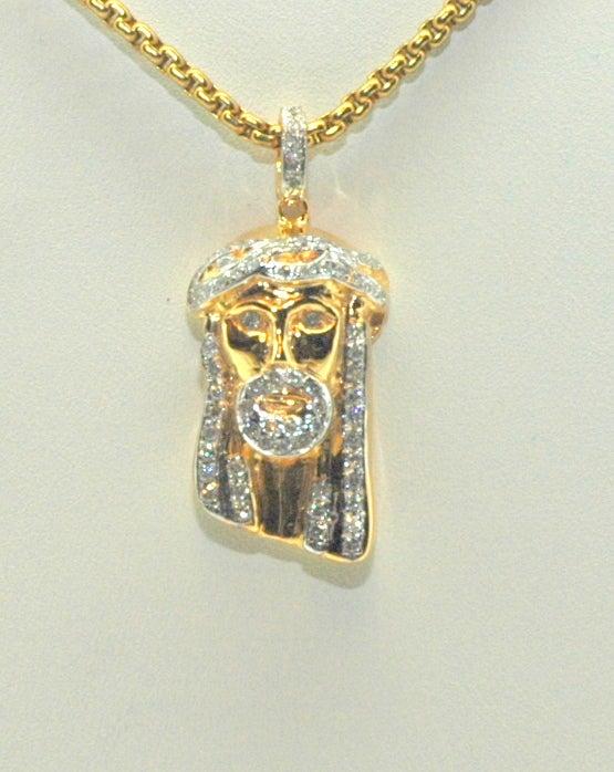 Image of Micro Jesus Pendant (Full Set)