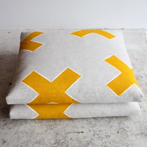 Image of cross stitch #2 cushions