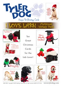 Image of I Love Labs! Christmas Variety Pack