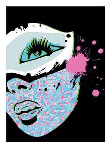 "Image of PaperMonster ""True Identity"" Artist Proof Print"