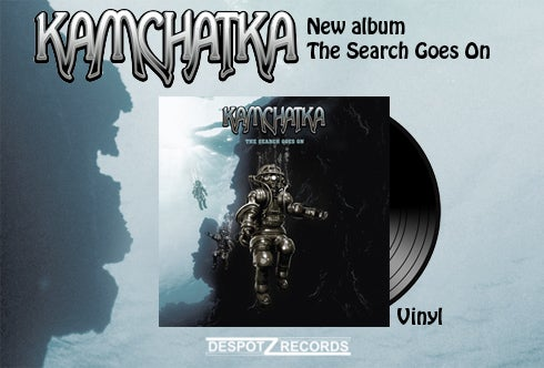 Image of Kamchatka - The Search Goes On [Blue VINYL]