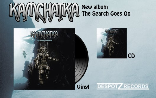 Image of Kamchatka - The Search Goes On [CD/ Blue VINYL]