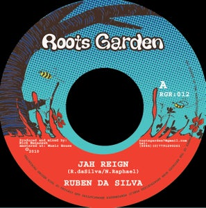 "Image of 7"" Ruben Da Silva  'Jah Reign' / Cate ferris 'Minus 2 Degrees' (Reuben Rhythm)"