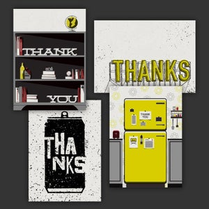 Image of Thank You Postcards (4 pack)