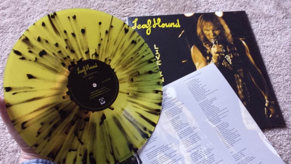 Image of Leaf Hound - Live In Japan 2012 (LP) Splatter (Ltd. Ed.)