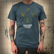 Image of The Pursuit of NY - Deep Ocean Blue (Mens)