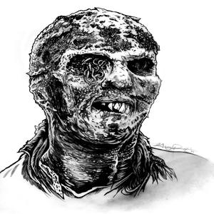 Image of Zombie Original drawing