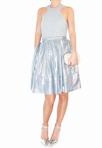 Image of By Malene Birger - Marylou Flashy Future skirt