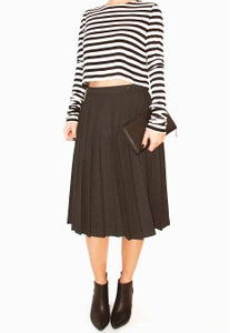 Image of Tara Jarmon - Pleat Skirt