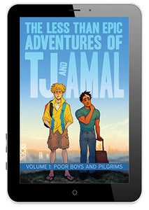 Image of TJ & Amal Volume 1 Graphic Novel - PDF edition