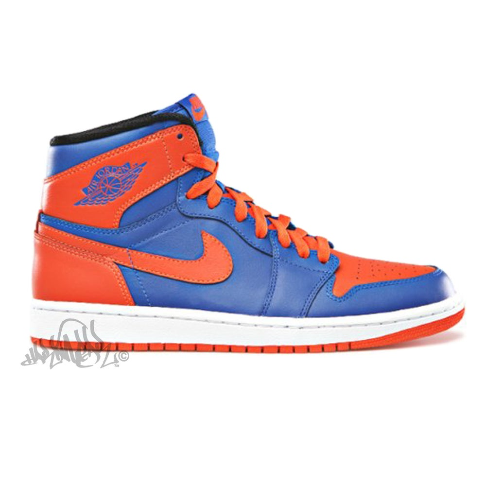 Image of AIR JORDAN 1 RETRO HIGH OG - KNICKS - 555088 407