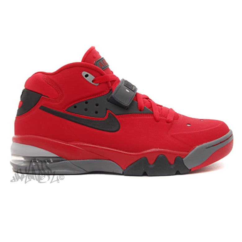 Image of NIKE AIR FORCE MAX 2013 - UNI. RED - 555105 600