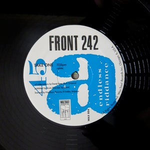 Wax Trax Records Front 242 Endless Riddance 12 Quot 2nd
