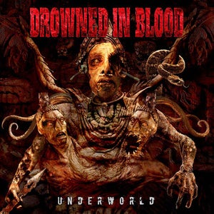"Image of DROWNED IN BLOOD ""Underworld""  Digipack."