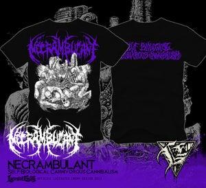 Image of NECRAMBULANT - Self Biological Carnivorous...TS purple
