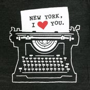 Image of New York Typewriter T-shirt