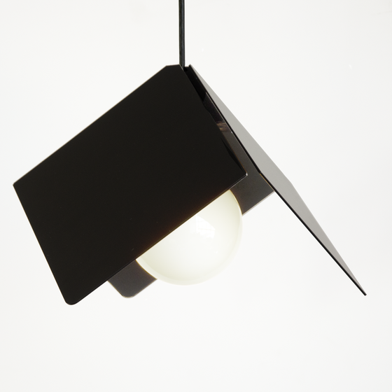 Image of Cubist Lamp: Black Anodize