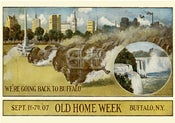 Image of Old Home Week 1907 - Buffalo Stampede