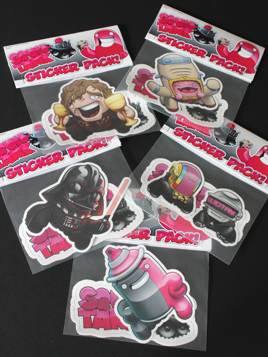 Image of 30 Days of Squids: Episode 2 Stickers - Individuals