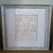 Image of In stock framed intaglios from Quatrefoil Design