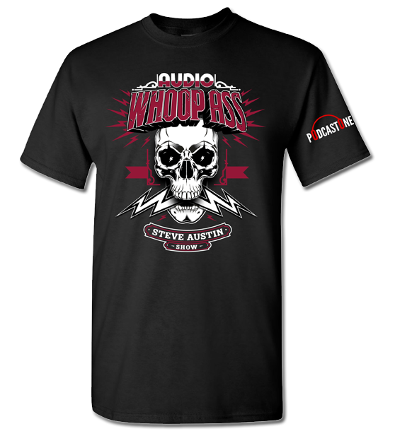 Image of ON SALE -  The Official Steve Austin Show Adult Black Tee