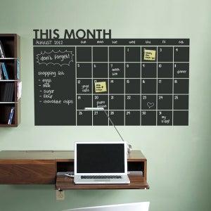 Image of Daily Chalkboard Wall Calendar