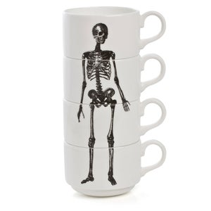 Image of Stacking Skeleton Coffee Cups (Numbered)