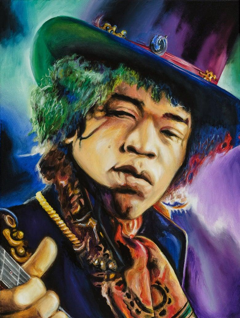"Image of ""Purple Haze"" print"