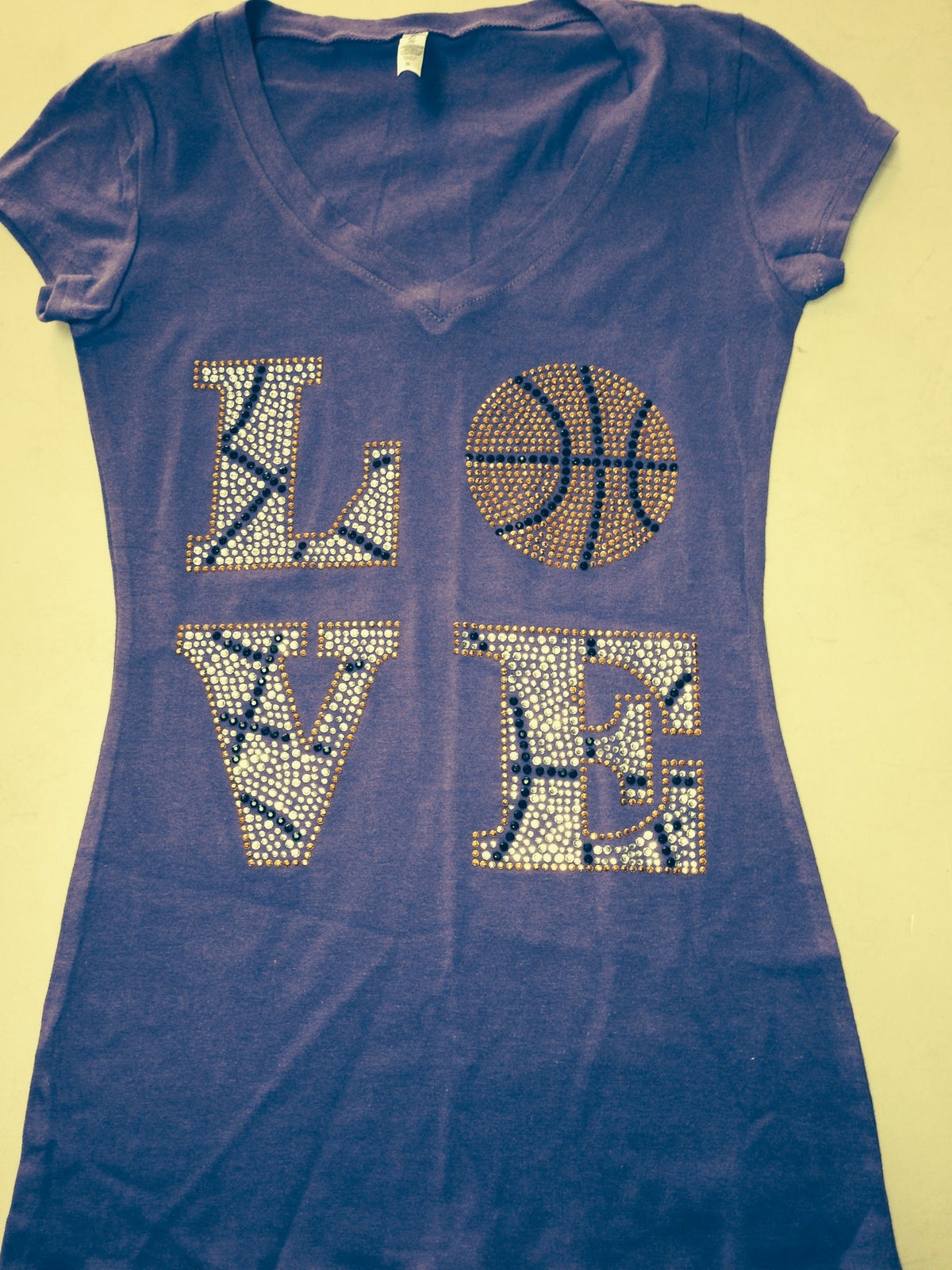 Image of Love Basketball (Short Sleeve Baby Doll Tee)