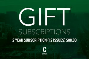 Image of Gift Subscriptions 12 Issues