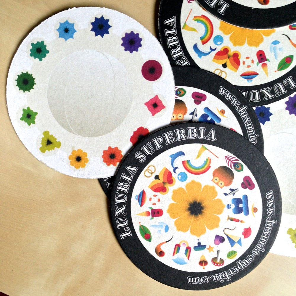Image of Luxuria Superbia Coasters