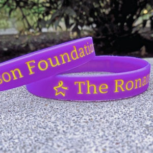 Image of Plain Purple Foundation Band - Pack of 2