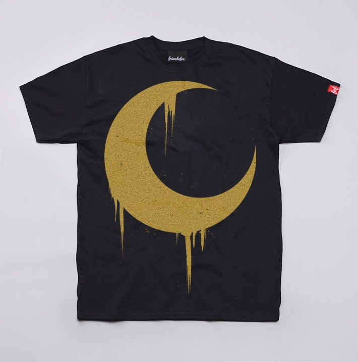 Image of Gold Crescent Moon Tee