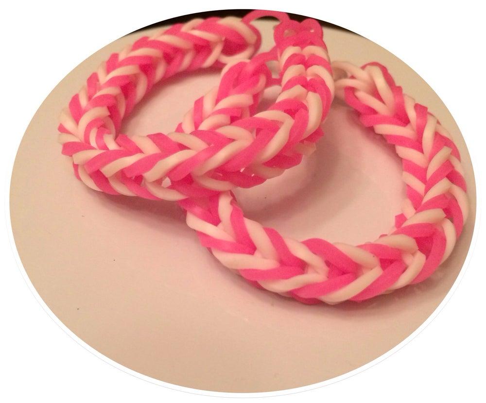 Image of Strawberry Swirl Bracelet - Glow in the dark  (2)