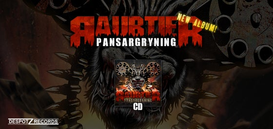 Image of Raubtier - Pansargryning [CD]