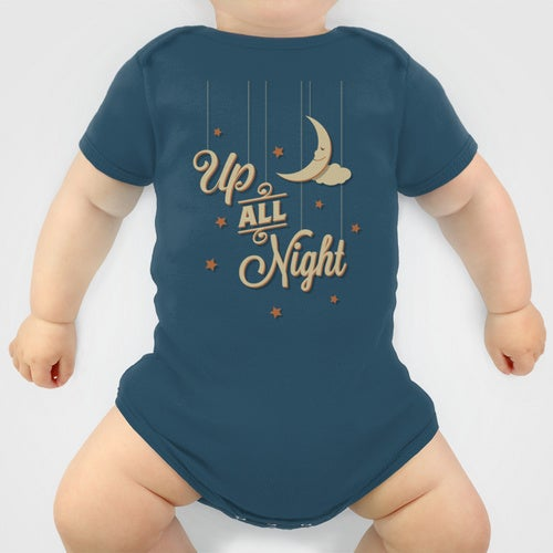 Image of Up All Night Baby Grow