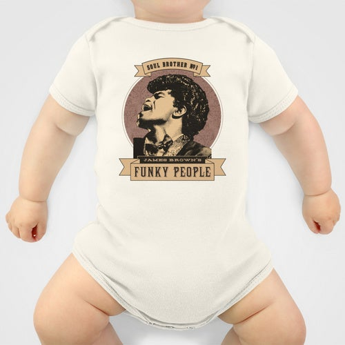 Image of James Brown's Funky People Baby Grow