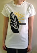 Image of THEATRE of HATE DEVICE ON WHITE T-SHIRT