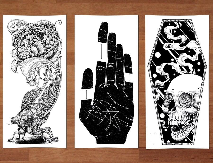 Image of Black Coal Print Pack