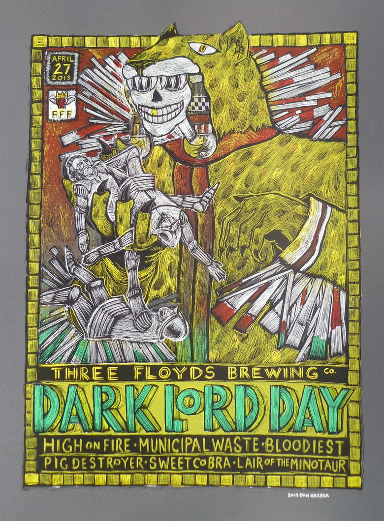 Image of Dark Lord Day 2013 Poster
