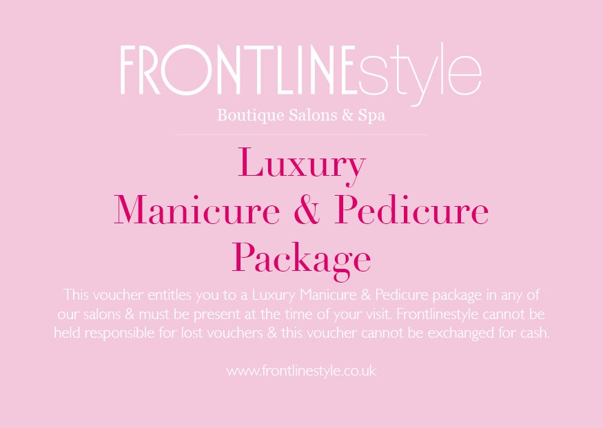 Image of Luxury Manicure & Pedicure Package