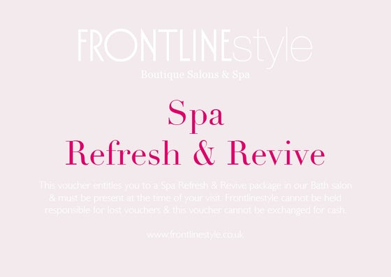 Image of Spa Refresh & Revive