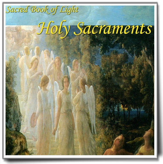 Image of Sacred Book of Light: Holy Sacraments - Paperback Book