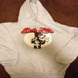 Image of New dablife hoodie heather gray
