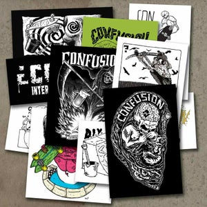 Image of Confusion Magazine - Sticker Pack