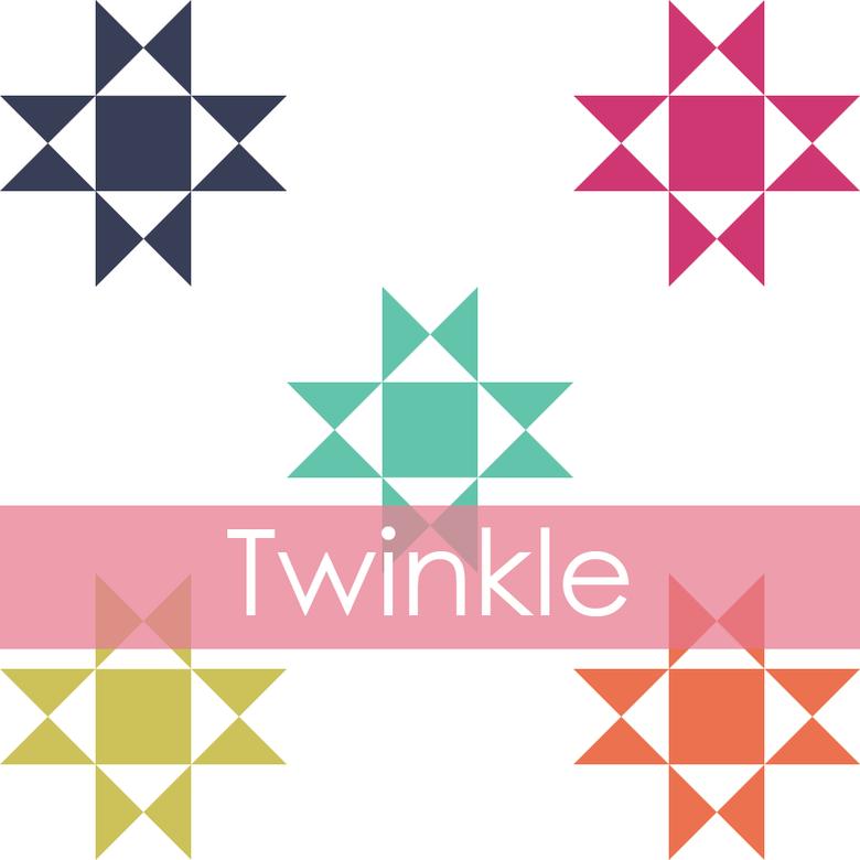 Image of Twinkle Mini Quilt #103, PDF Pattern