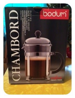 Image of Bodum 17oz French Press (coffee for two.)