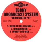 "Image of EBONY BROADCAST SYSTEM ""BROADCASTIN' PART 1"""